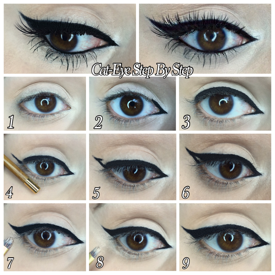 How To Perfect Your Cat-Eye Eyeliner