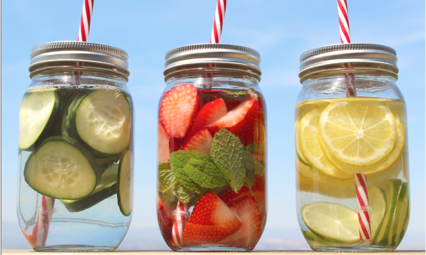 Three Refreshing Waters That Will Relieve Your Belly From Holiday Overeating
